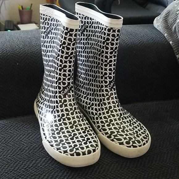 Coach Shoes - Coach Rainboots